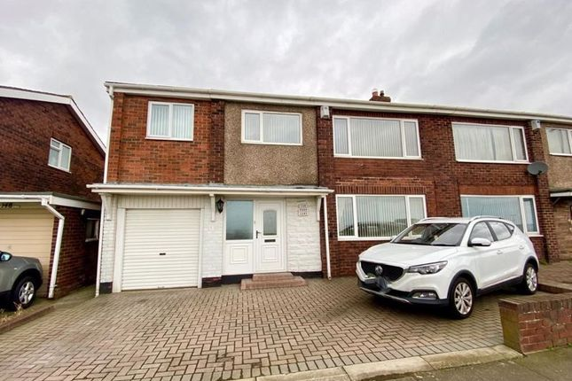 Thumbnail 4 bed property for sale in Park Lane, Shiremoor, Newcastle Upon Tyne