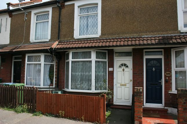 Thumbnail Terraced house to rent in Leavesden Road, Watford