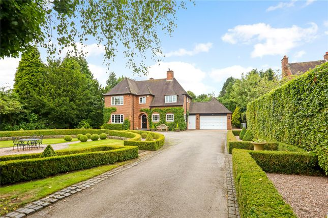 Thumbnail Detached house for sale in Mereside Road, Mere, Knutsford, Cheshire