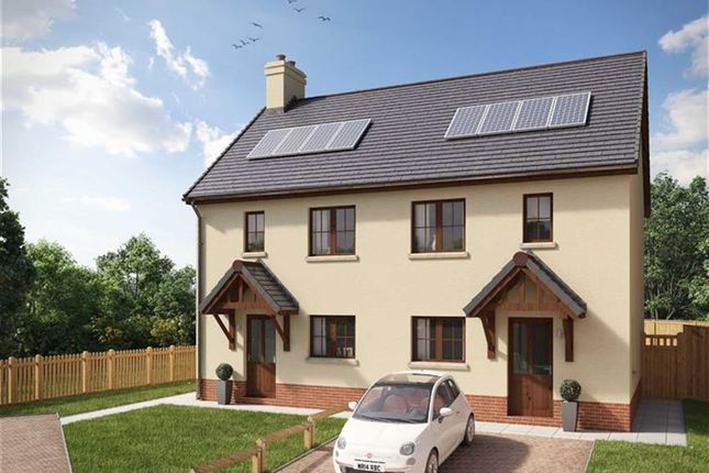 Thumbnail Semi-detached house for sale in Penllyn, Cilgerran, Cardigan