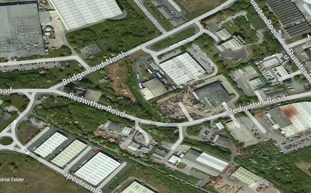 Thumbnail Land for sale in Land At Bridge Road, Bridge Road (North), Wrexham Industrial Estate, Wrexham