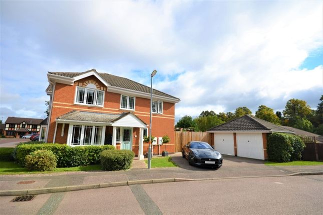 Thumbnail Detached house for sale in Launcelot Court, Duston, Northampton