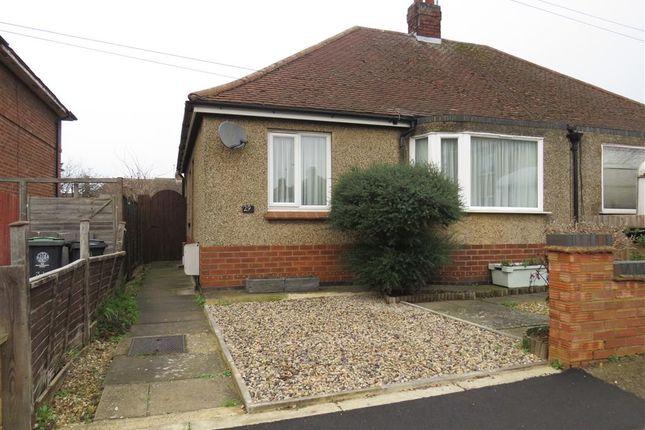Thumbnail Semi-detached bungalow for sale in Vine Hill Drive, Higham Ferrers, Rushden
