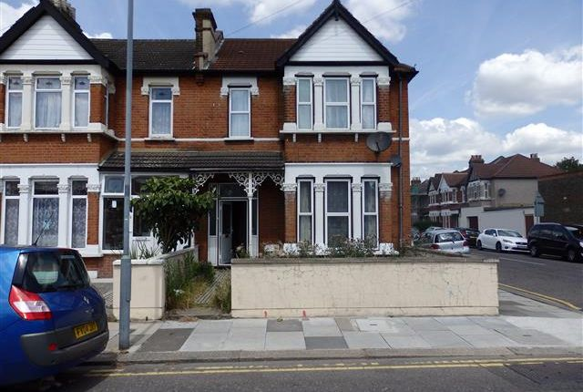 Thumbnail End terrace house to rent in Breamore Road, Seven Kings