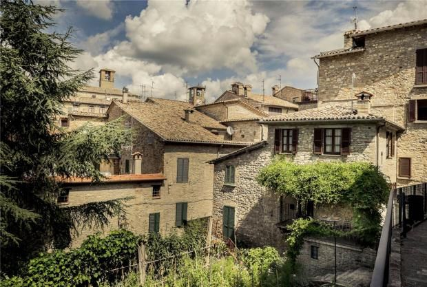 Thumbnail Town house for sale in Casina, Montone, Umbria, Italy