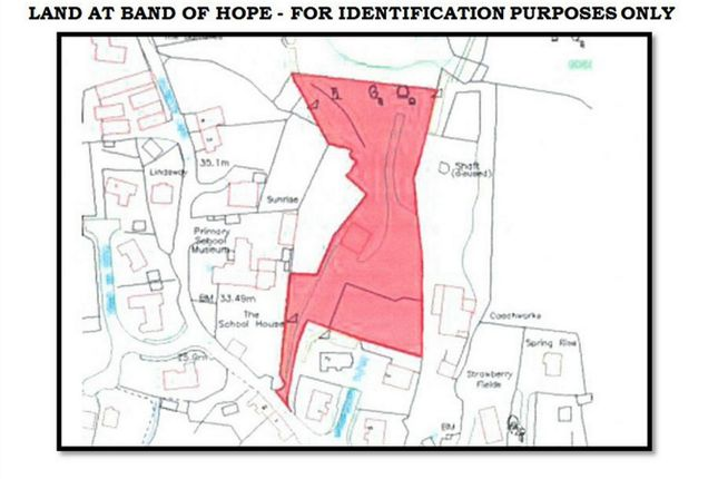 Land At Band Of Hope, Off Kilgetty Lane, Stepaside, Narberth, Pembrokeshire SA67