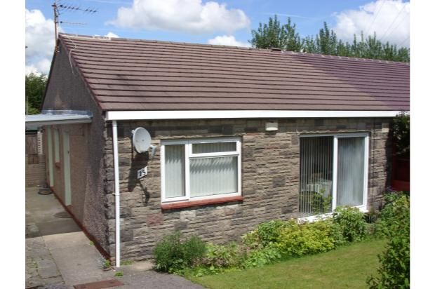 Thumbnail Bungalow to rent in Canterbury Road, Beaufort, Ebbw Vale
