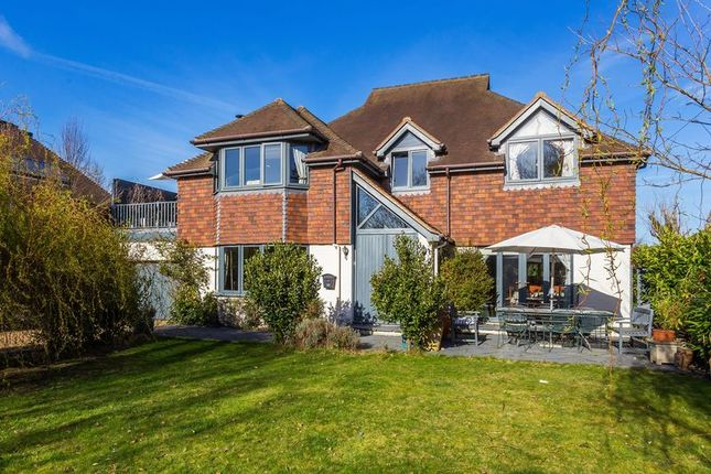 Thumbnail Detached house for sale in Abbotswood, Burpham, Guildford