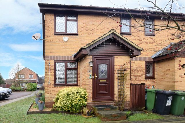 Thumbnail End terrace house for sale in Cedar Wood Drive, Watford, Hertfordshire