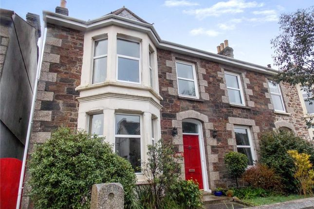 Thumbnail Semi-detached house for sale in Albany Road, Redruth
