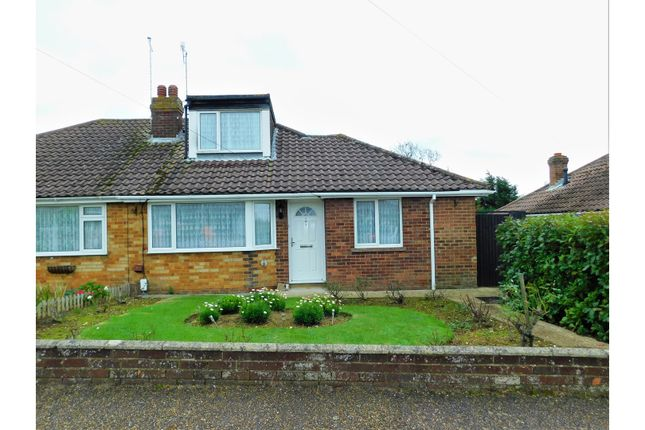 Thumbnail Semi-detached bungalow for sale in Bramber Close, Lancing
