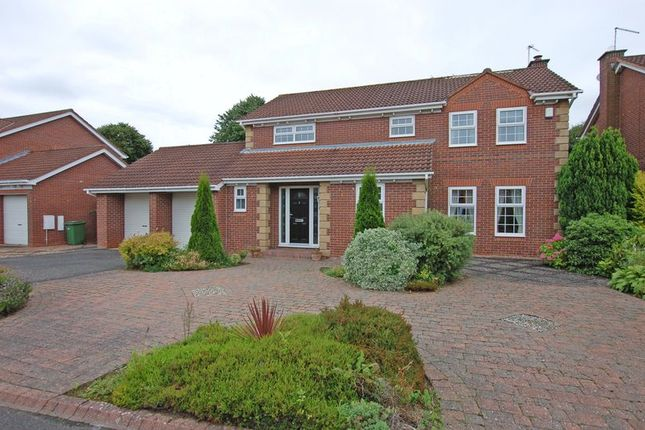 Thumbnail Detached house for sale in Wood Fields, Ponteland, Newcastle Upon Tyne