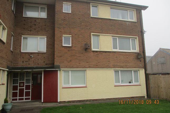 Thumbnail Maisonette to rent in Croft Road, Blyth