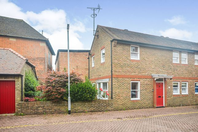 Thumbnail End terrace house for sale in Becket Mews, Canterbury, Kent