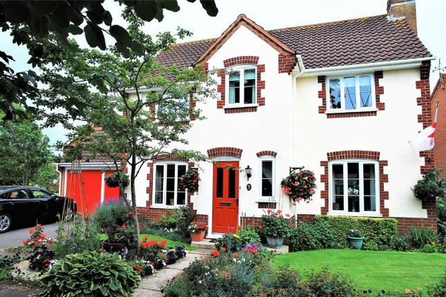 Thumbnail Detached house for sale in St Quintin Park, Bathpool, Taunton, Somerset