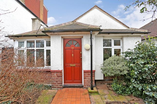Thumbnail Bungalow for sale in Erlesmere Gardens, Ealing