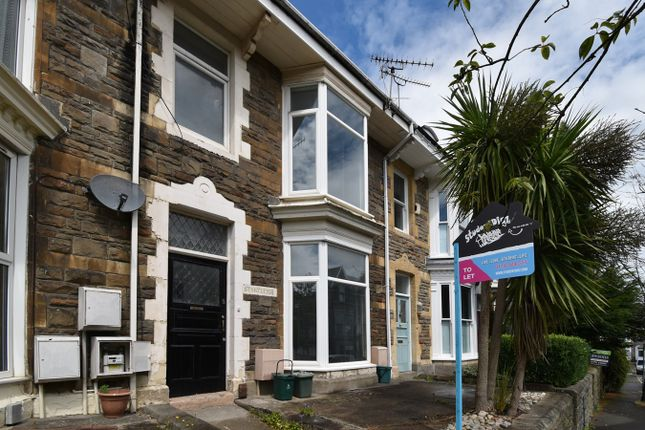 Thumbnail Terraced house for sale in St Albans Road, Brynmill, Swansea