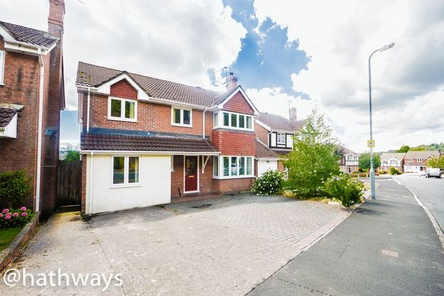Thumbnail Detached house for sale in Wentwood Road, Caerleon, Newport