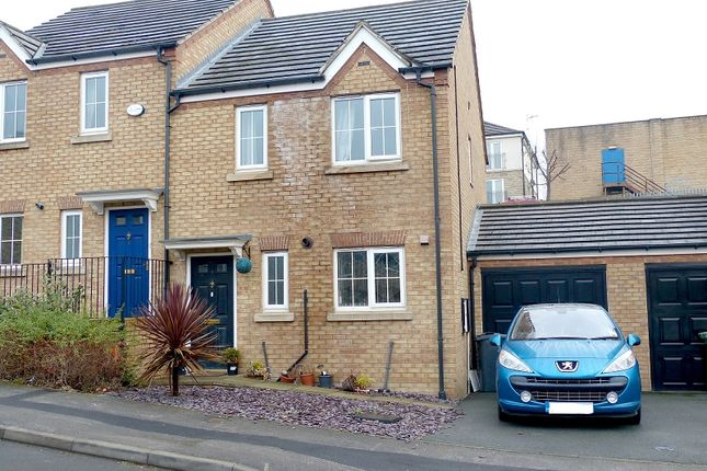Thumbnail Semi-detached house for sale in Carriage Way, Heckmondwike, West Yorkshire.