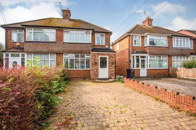 Thumbnail Semi-detached house to rent in Thackeray Close, Hillingdon, Middlesex