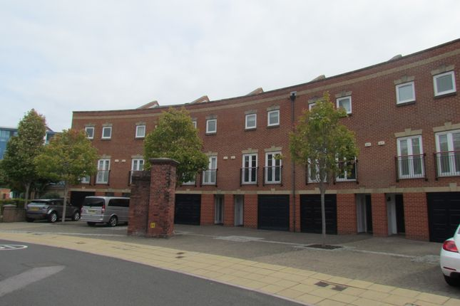 Thumbnail Town house to rent in Gunwharf Quays, Portsmouth, Hampshire