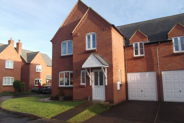 3 bed semi-detached house to rent in Cox's Meadow, Lea, Ross-On-Wye HR9
