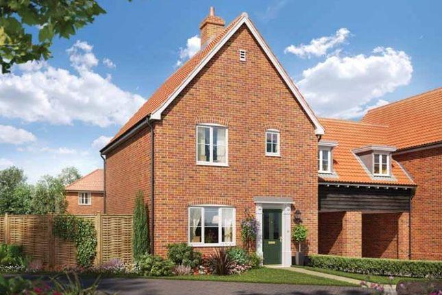 Thumbnail Link-detached house for sale in Station Road, Framlingham, Suffolk