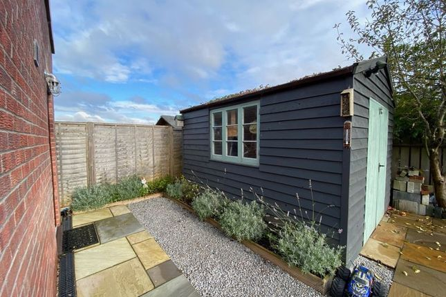 Rear Garden of Wenhill Heights, Calne SN11
