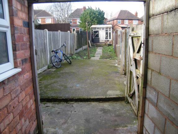 Rear Garden of Wilton Road, Handsworth, Birmingham, West Midlands B20