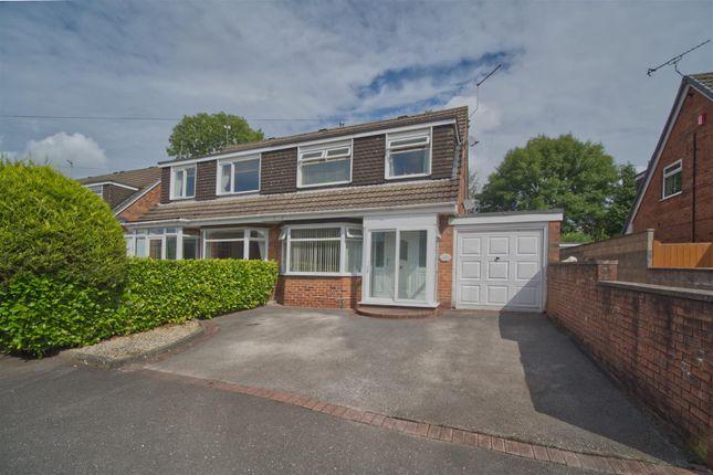 Thumbnail Semi-detached house for sale in Elmwood Drive, Blythe Bridge, Stoke-On-Trent