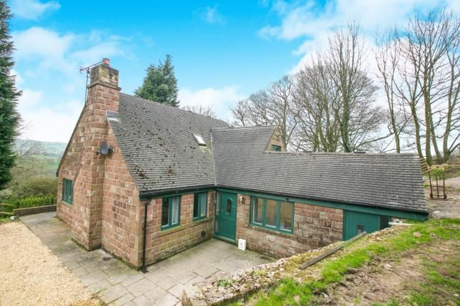 Thumbnail Detached house for sale in Rushton Spencer, Macclesfield, Staffordshire