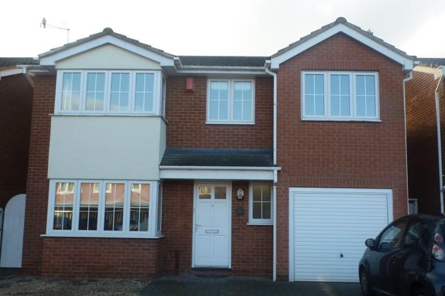 Thumbnail Detached house to rent in Squirrel Close, Narborough, Leicester