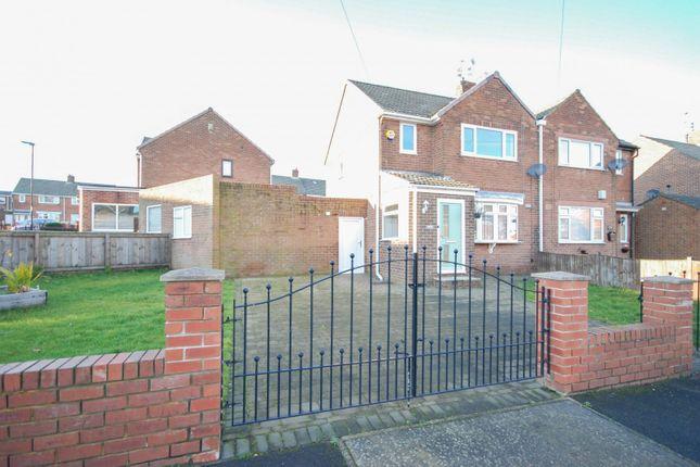 Thumbnail Semi-detached house for sale in Crossways, New Silksworth, Sunderland