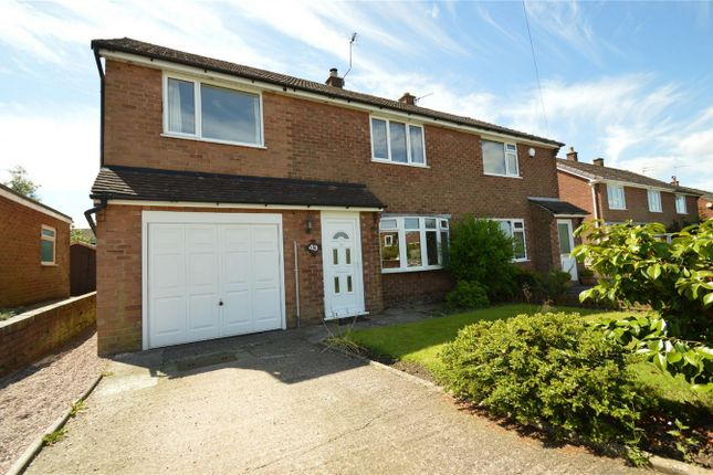 Thumbnail Semi-detached house for sale in Crossfield Road, Bollington, Macclesfield, Cheshire