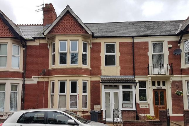 Thumbnail Terraced house to rent in Allensbank Road, Heath, Cardiff