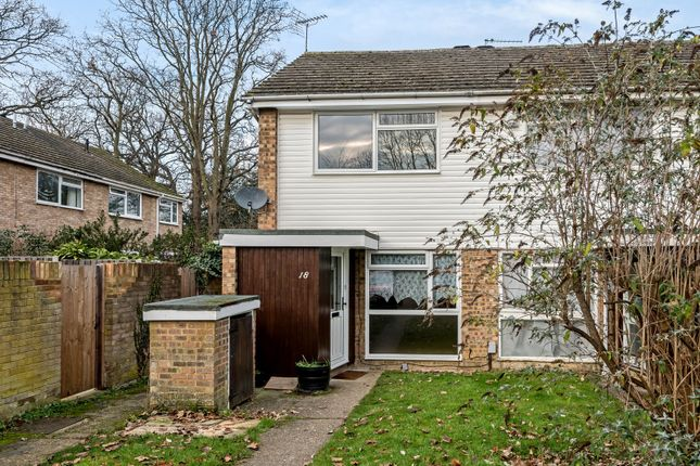 Thumbnail End terrace house for sale in Waterside Way, Woking