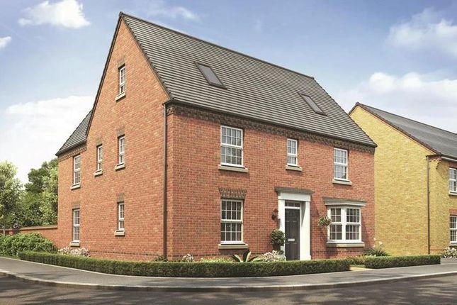"Thumbnail Detached house for sale in ""Moreton"" at Newton Lane, Wigston"