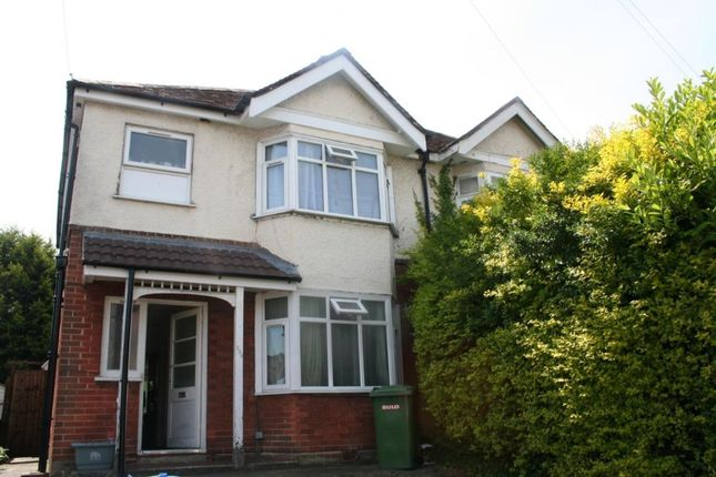 Thumbnail Semi-detached house to rent in Burgess Road, Southampton