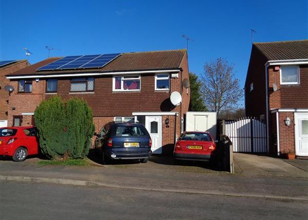 Thumbnail Semi-detached house to rent in Gilbert Close, Leicester