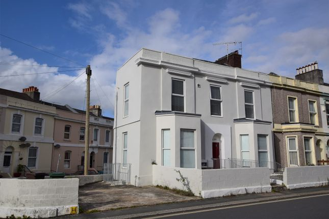 Thumbnail End terrace house for sale in North Road West, Plymouth, Devon