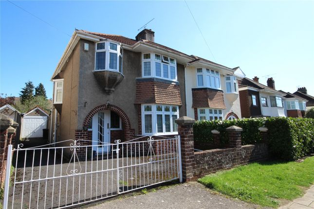 Thumbnail Semi-detached house for sale in Reedley Road, Westbury-On-Trym, Bristol