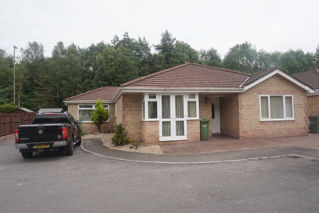 Thumbnail Detached bungalow for sale in St Davids Park, New Tredegar