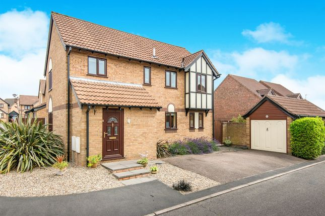 Thumbnail Detached house for sale in St. Margarets Drive, Sprowston, Norwich