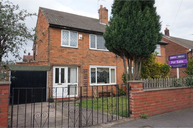 Thumbnail Semi-detached house for sale in Colchester Court, Scawsby