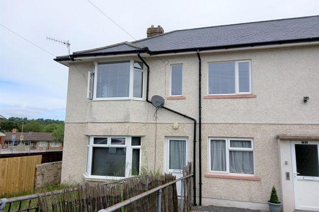 Thumbnail Flat to rent in Dolfain, Ystradgynlais, Swansea.
