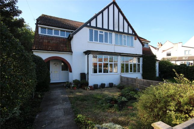Thumbnail Semi-detached house for sale in Henleaze Terrace, Henleaze, Bristol