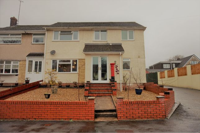 Thumbnail End terrace house for sale in Berkeley Crescent, Pontypool