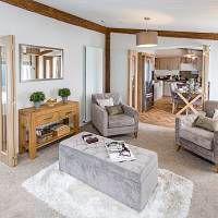 Thumbnail Lodge for sale in Bentham Road, Ingleton