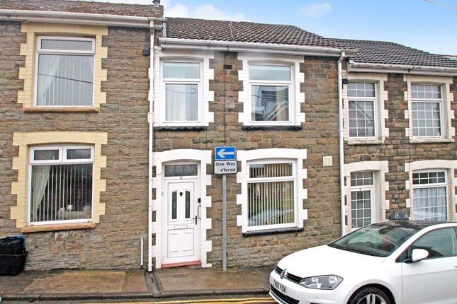 Thumbnail Terraced house for sale in Crown Street, Abertillery, Gwent