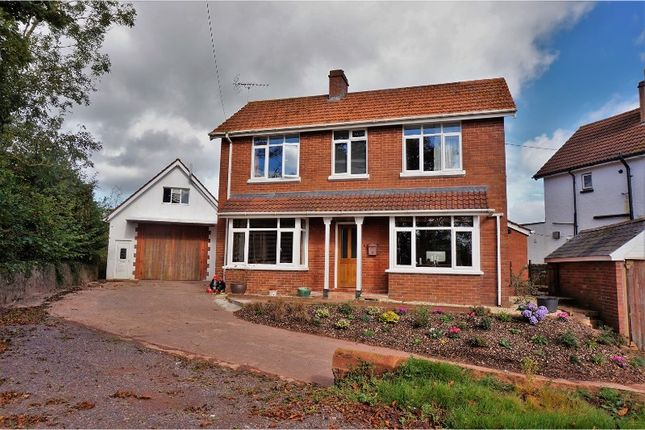 Thumbnail Detached house for sale in Clyst St. George, Exeter